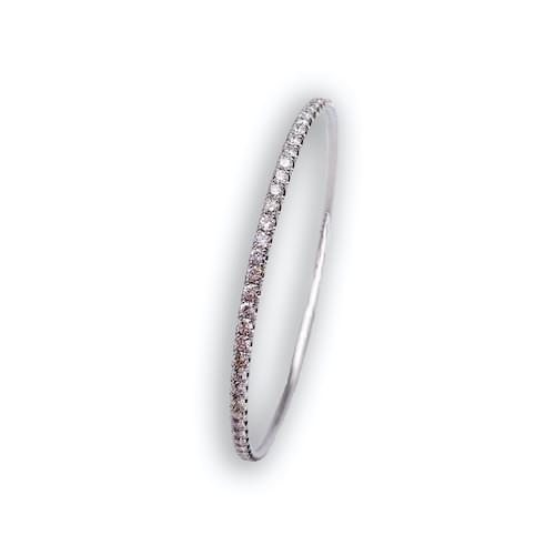 Jewelry store in Carmel CA. Diamond Eternity Solid Bangle Bracelet Carmel by the Sea. Fine jewelry and estate jewelry.